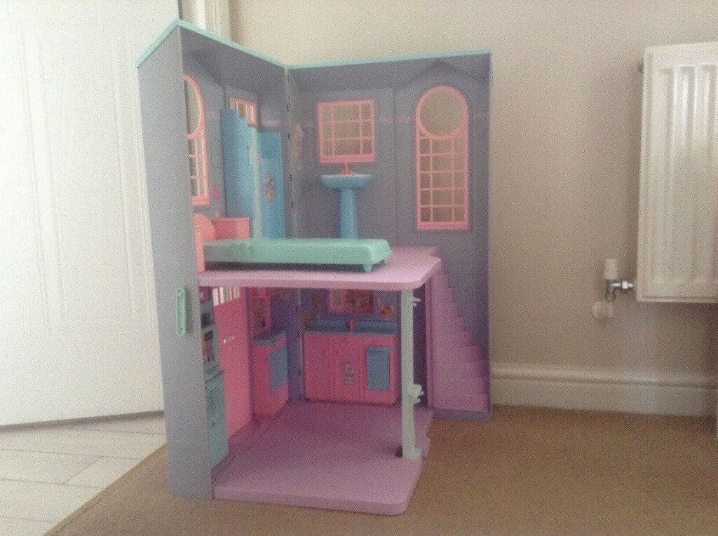 Barbie dolls house with voice activated buttons