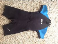 Ladies/Girls shorty wetsuit approx size 10/12