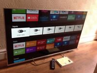 SONY 55-inch ANDROID TV SUPER SMART 3D LED TV-KD-55W807C,Freeview HD & FREESAT HD,GREAT Condition