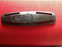 Car seat safety clip/buckle