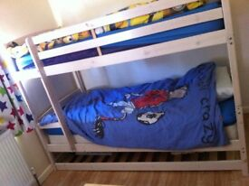 Bunk beds also turn into single beds