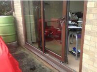 Patio Doors Sliding Double Glazed UPVC