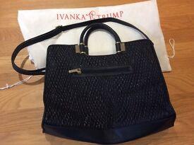 Ivanka Trump Black Handbag