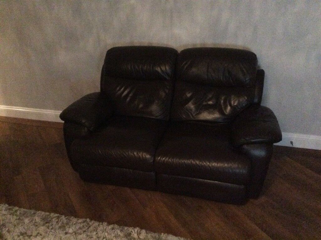 Leather recliners sofas
