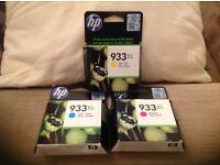 Genuine and unopened. HP Officejet ink cartridges.