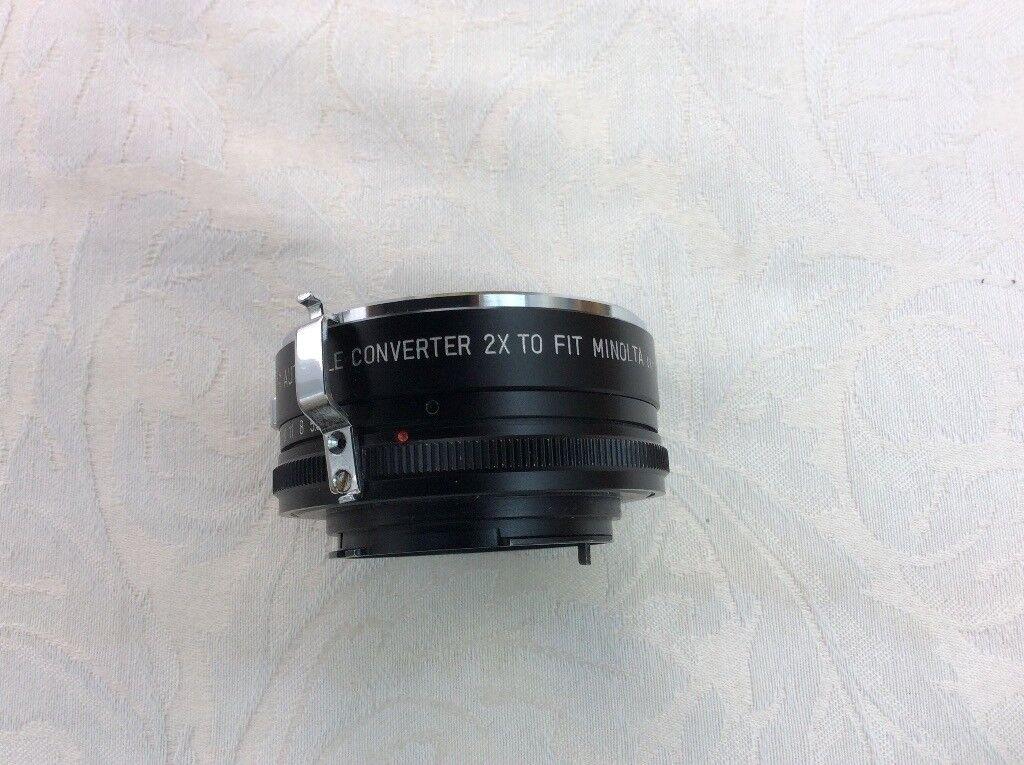 Soligor Auto tele converter lens