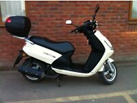 Peugeot VIVACITY 3 125cc Scooter , Low mileage local bike comes with useful top box