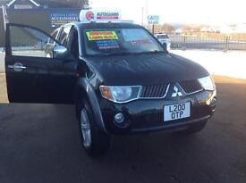 MITSUBISHI L200 2.5DI-D 4WD-DOUBLE CAB PICK-UP-AUTO-ELEGANCE-NO VAT-UPGRADED ALLOYS-DIESEL