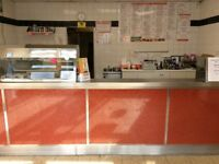 Bamboo Panda Chinese & English Takeaway for Sale in busy location.
