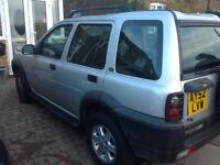 Land Rover freelander for spares and repairs