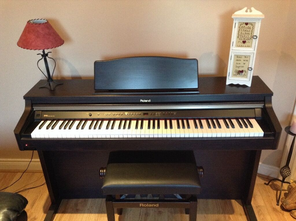 roland hp102e digital piano for sale in ballymena county antrim gumtree. Black Bedroom Furniture Sets. Home Design Ideas