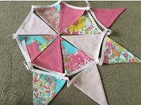 3m of Pink Double sided Bunting.