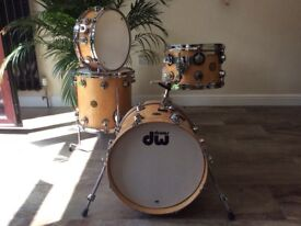 DW Collectors Jazz drums brand new unused 18 bass very rare