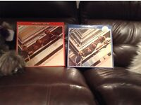 The Beatles. Two vinyl double albums for sale .