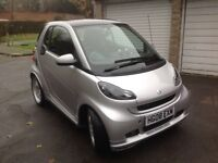 2008 Smart Fortwo 1.0 BRABUS, 2 Door, Exclusive, Automatic, Silver, 2 keys, HPI Clear