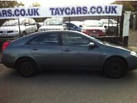 TRADE IN TO CLEAR NISSAN PRIMERA YEARS MOT £595