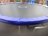 12 ft trampoline cost over £200 6 months ago would accept £60