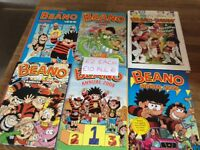 Bundle Of Beano Annuals