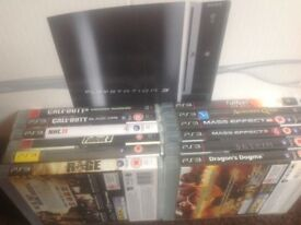 Boxed PS3 & 12 Games