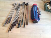 Reduced - Golf clubs and shoes