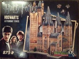 Harry Potter Hogwarts Astronomy Tower 3D puzzle