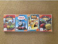 German kids dvds / Deutsche Kinder dvd's chuggington, Thomas & Bob