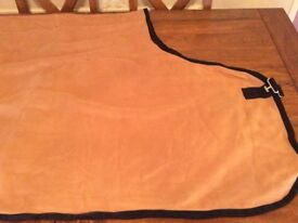 "New Horse Rug Fleece 6'4"""