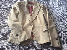Ana Sousa cream jacket size 10