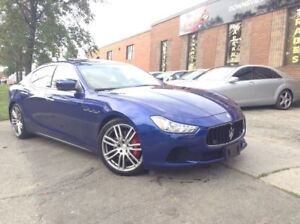 2014 Maserati Ghibli S Q4| NAVI/ CANADIAN VEHICLE !!!