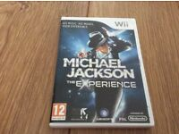 Michael Jackson Wii game