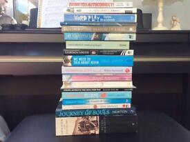 Bundle of books.