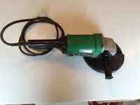 Hitachi 9 inch angle grinder, collection only
