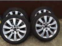 Honda Civic wheels and tyres for 2005 - 2010 model.