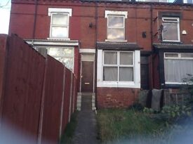 2 bed through terrace, Stanley Road, Harehills.