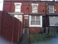 2 bed through terrace, Stanley Road, Harehills.