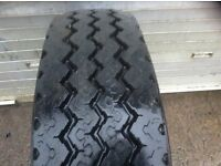 225/75R16c mitchelin x on Mercedes vario wheel . 10 MM. tread.
