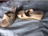 Firetrap platform sandals size 4