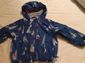 Next boys cagoule/jacket age 18-24 months/1.5-2 years