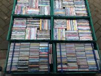 JOB LOT OVER 700 DVDS / CDS SOME STILL BRAND NEW PERFECT FOR BOOTFAIR