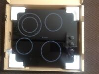 Brand new Hotpoint ceramic hob in box. Model No CRM641DC