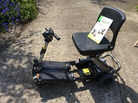 Mobility Scooter by Luggie Model FR168-4 - Used once