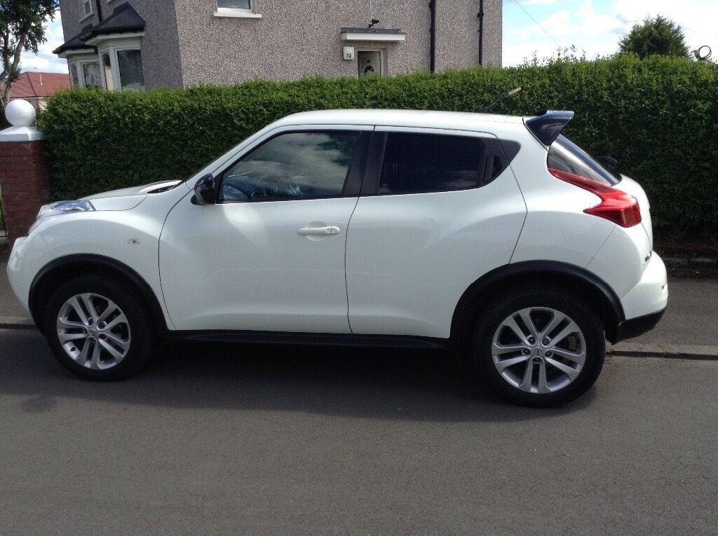 White Nissan Juke Acenta Sport 2012 In East End Glasgow