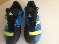 Size 8.5; Adidas indoor court footwear