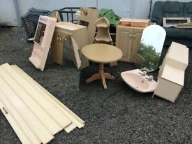 Stripped static caravan units and accessories for sale