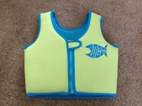 Childs floatation / swim trainer vest / jacket, age 4-5
