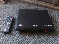 Bush DVD Player + 3 DVDs