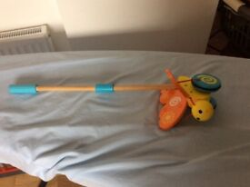Wood Toy that babys can pull when they start walking..excellent condition