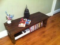 Rustic TV stand Audio Unit/Cabinet solid RECLAIMED wood~DISPLAY TABLE