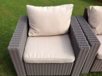 ARMCHAIR CUSHIONS for garden chairs