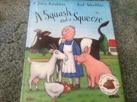 A squash and a squeeze children's book